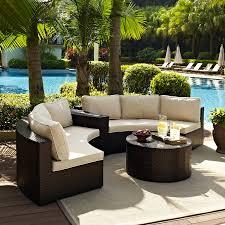 patio furniture for small spaces. Sunbrella Outdoor Furniture Patio Conversation Sets For Small Spaces 5 Piece Set 4 Setting