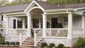wood deck railings porch railing designs wood ba ers