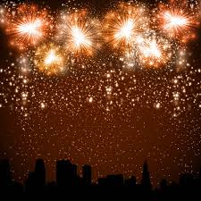 New Year Backdrops Allenjoy Background For Photo Studio City New Year Fireworks Night