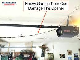 garage door spring lubricant garage door chain lubricant is it possible to predict when my spring
