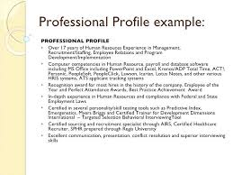Professional Profile In Resumes Professional Examples Of Profiles On Resumes Teacher For Mysetlist Co
