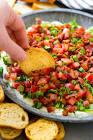 bacon  lettuce    tomato dip