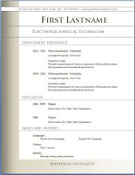 Downloadable Resume Templates Word