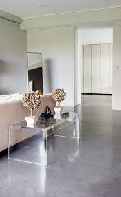 Polished Concrete Floor Kitchen Lazenby The Decorative Concrete Master Craftsmen Flooring
