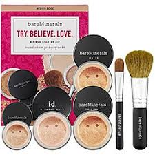 bare escentuals try believe love kit 76 value light