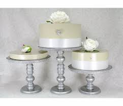Silver Wedding Cake Stand Canada