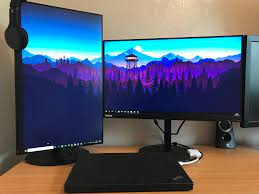 Inspired by another dual monitor post I ...