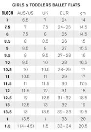 Bloch Dance Booties Size Chart Sizing Guides La Luna Home Page La Luna La Luna Dancewear