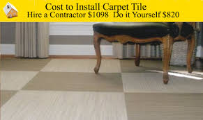 cost to install carpet tiles these tiles made of carpet can make any room more stylish