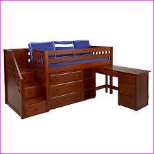 girls loft bed with desk and dresser bed desk dresser combo home