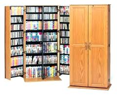 cabinet rack cabinets dvd oak wood winsome cd with glass doors