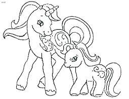 Free Unicorn Coloring Pages Printables Preschool Baby Printable