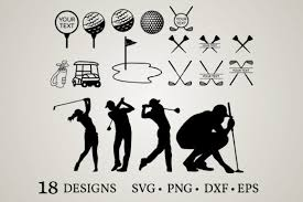 Svg offers the sweet taste of tiny file size plus excellent browser. 2 Golf Club Svg Designs Graphics