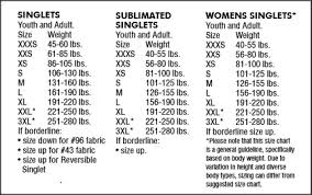 Cliff Keen Size Chart The Relentless Stock Singlet Cliff Keen Athletic