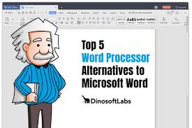 Microsoft Work Free 5 Best Free Word Processor Alternatives To Microsoft Word