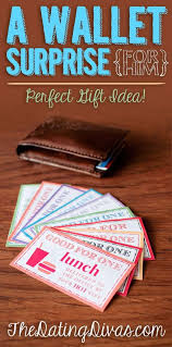 diy valentines day gifts for him romantic wallet surprise cool and easy things to