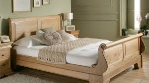 wooden bed furniture design. Unique Design Interior Simple Wooden Bed Brilliant Brown With White Sheet Connected By  Shabby Wall Intended For Wooden Bed Furniture Design