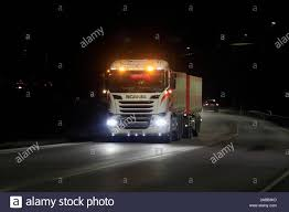Scania Lights Scania R730 Truck Of Transport Stromberg In Seasonal Sugar