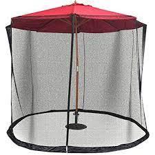 patio umbrella mosquito nets