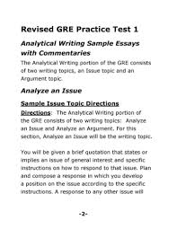 gre essays examples sat essays samples examples tina shawal revised gre analytical writing sample essays docoments ojazlink sample gre test papers solutions hindi essay on