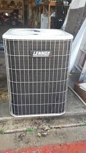 lennox ac unit. 2.5 ton lennox r22 ac unit larger image ac