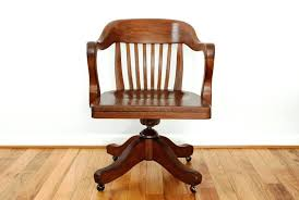 vintage wooden office chair. Office Chair Wooden Image Of Antique Desk Base Parts Vintage