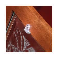 clips for cabient door glass
