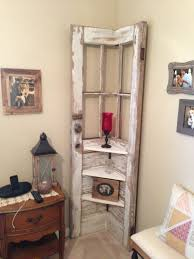 rustic door shelf