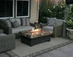 patio table with fire pit patio table with fire propane fire table simple cool amazing good