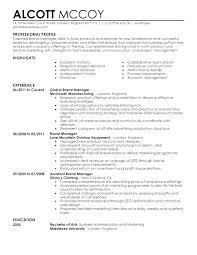 Marketing Director Resume Samples Logistics Manager Resume Template ...