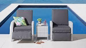 argos 3 piece outdoor reclining