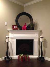 Corner Fireplace Fireplace Decor For The Home Pinterest Mantle Living Rooms