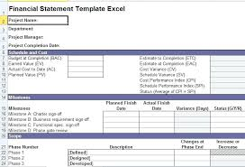 Excel Financial Statement Financial Statement Excel Template Infekt Me
