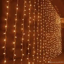 Satın Al Toptan 10 M X 3 M 1000 LED Açık Noel Perde Dize Işık Parti Peri  Düğün Arka Plan Otel Tatil Dekorasyon Tedarik 110 V ABD Plug, TL2,897.03
