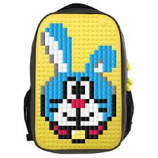Пиксельный <b>рюкзак Full Screen</b> Biz Backpack WY-A009 Желтый ...