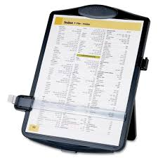 office paper holders. Amazon.com : Sparco SPR38950 Easel Document Holders, Adjustable, 10 X 2 14 Inches, Black Holder For Typing Office Products Paper Holders