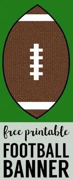 Homemade Super Bowl Decorations Cheap Super Bowl Decorations Football Banner Football banner 38