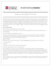 Captivating Resume For Graduate School Nurse Practitioner On Resume