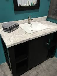 cultured marble bathroom sinks. cultured marble vanity top with bluntnose edge. drop in sink provided by d\u0027vontz bathroom sinks