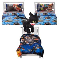 dreamworks how to train your dragon 2 5 piece twin bedding set reversible comforter