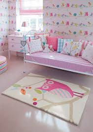 Owl Kids Rug In Sweet Pastel Colours From Harlequin Prachtig