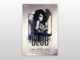 Club Flyer Templates Free Club Vibe Free Psd Flyer Template By Pixelsdesign Net On