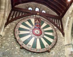 king arthur s round table at the great hall winchester