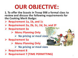 Cooking Merit Badge Class Ppt Download