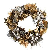 vendage wreath