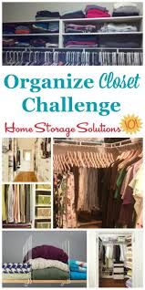 here are step by step instructions for how to organize your closet including decluttering as