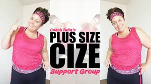 weightloss group plus size cize support group weight loss workout youtube