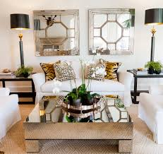 Mirrored Furniture Living Room Who Wouldve Thought Tiger Accent Pillows I Did Hear That