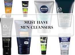 10 best face washes for men in india