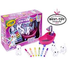Crayola Scribble Scrubbie, Toy Pet Playset,Gift for Kids, Age 3, 4 3 Year Old Girl Gifts: Amazon.com